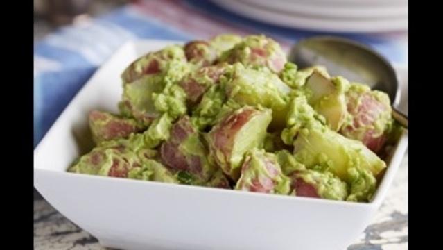 Guacamole potato salad_21866398