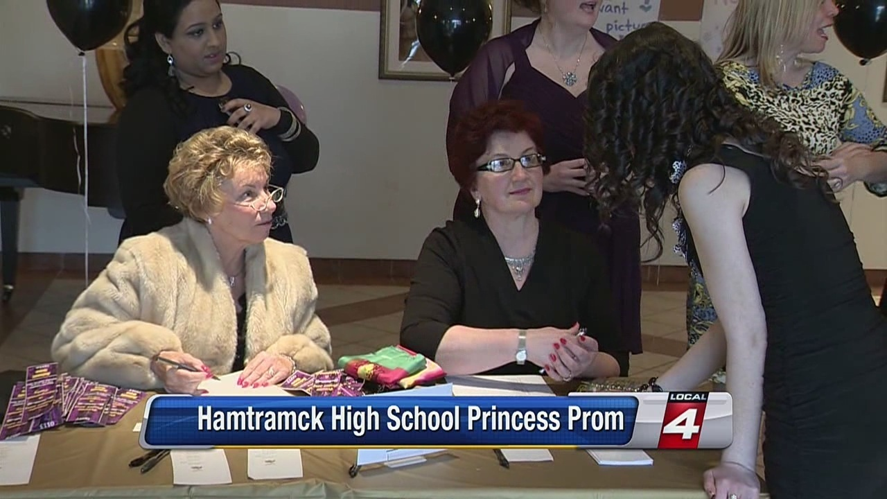 Video Thumbnail For Hamtramck High School Princess Prom