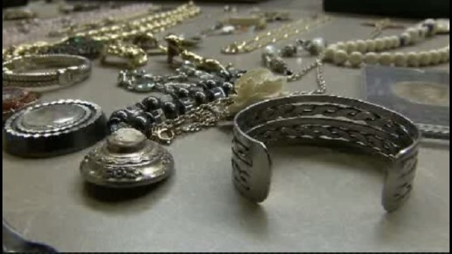 Jewelry stolen by Todd Lloyd Griffin