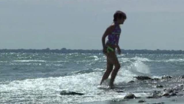 Lake Huron fuel spill beaches