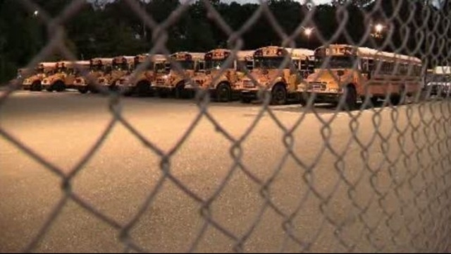 Livonia school bus yard