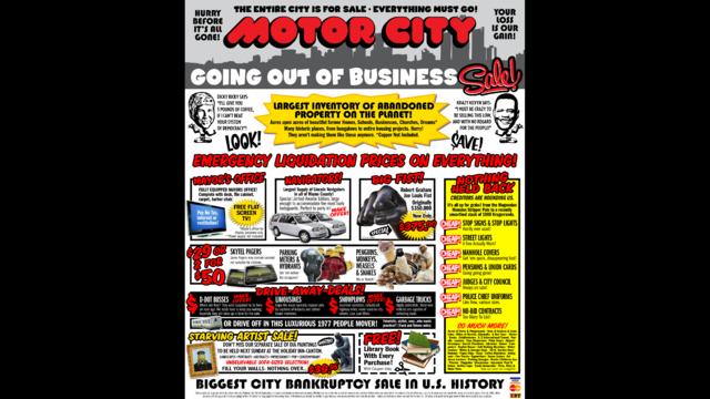 Motor City sale sign_21466534