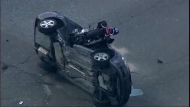 Motorcycle crash Taylor 1