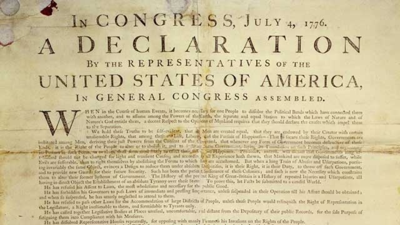 why the declaration of independence was written