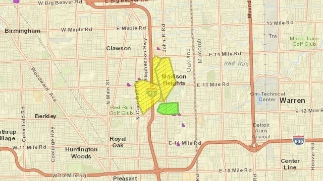 Oakland Mall Power outage_18331060