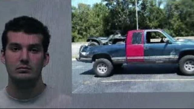 Paul Joseph Creps and pickup truck