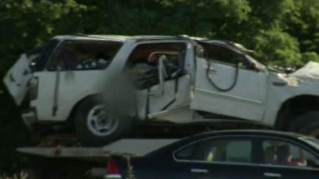 Pittsfield Township SUV crash