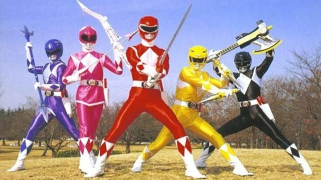 Power Rangers TV show cast