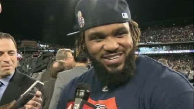 Prince Fielder after Game 4 ALCS