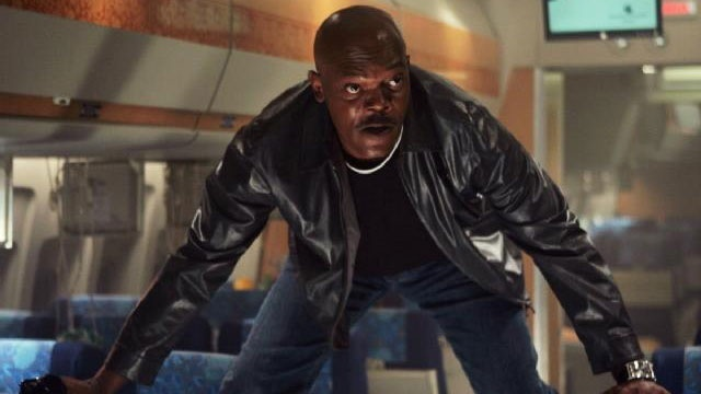 Samuel Jackson in Snakes on a Plane