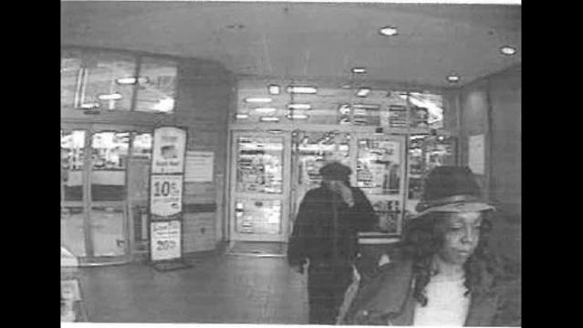 Suspect using stolen credit card