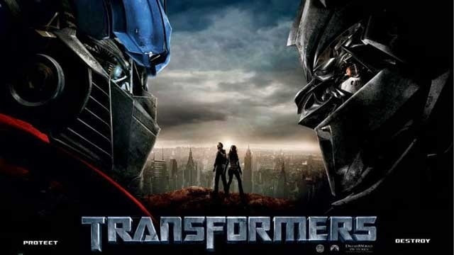 Transformers movie poster image
