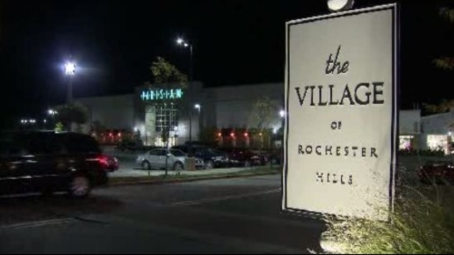 Village of Rochester Hills sign