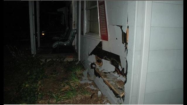 Car crash into Ferndale home_16828346