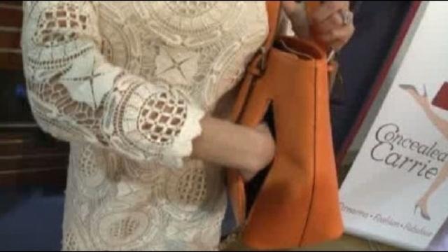 Handgun handbag called Concealed Carrie