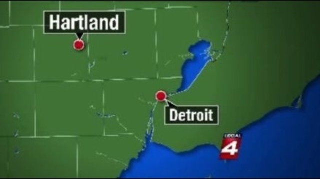 Map of Hartland to Detroit_13422366