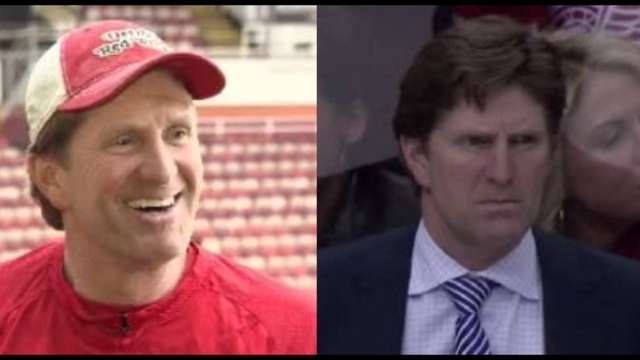 two faces of Mike Babcock