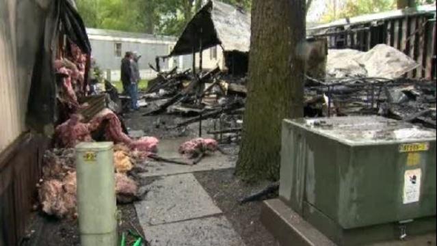 warren fire scene
