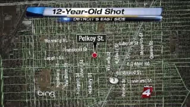 12-year-old shot on Detroit's east side_15949170