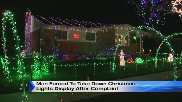 video thumbnail for man forced to take down christmas lights - When To Take Down Christmas Lights