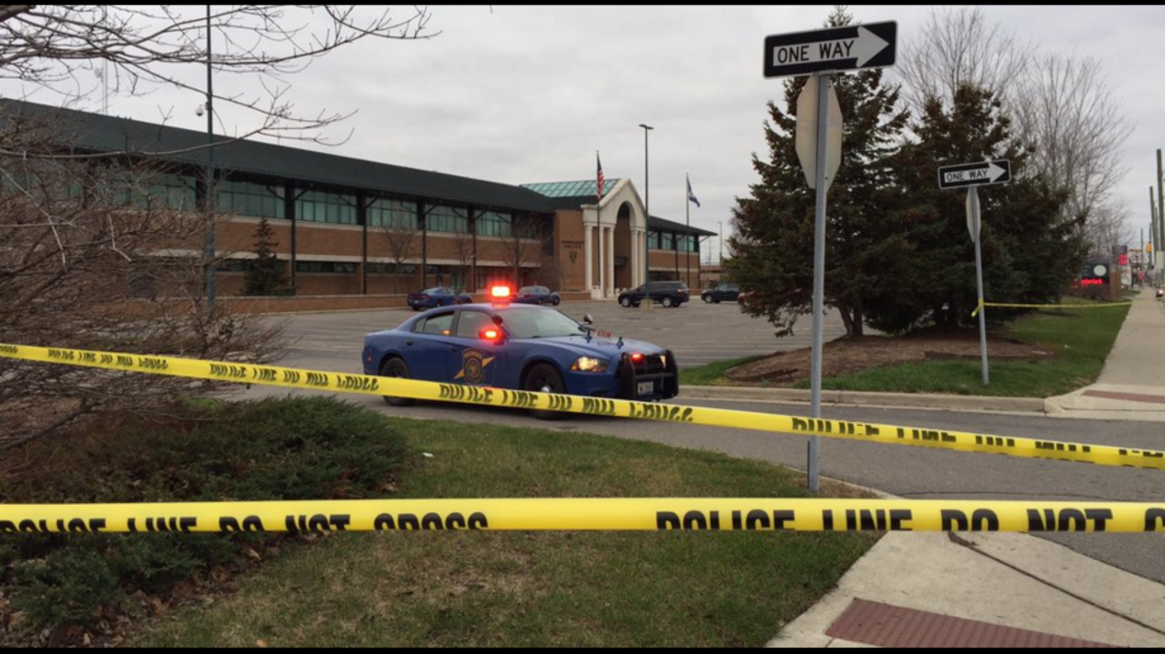 Man shot killed inside dearborn heights police department - Garden city michigan police department ...