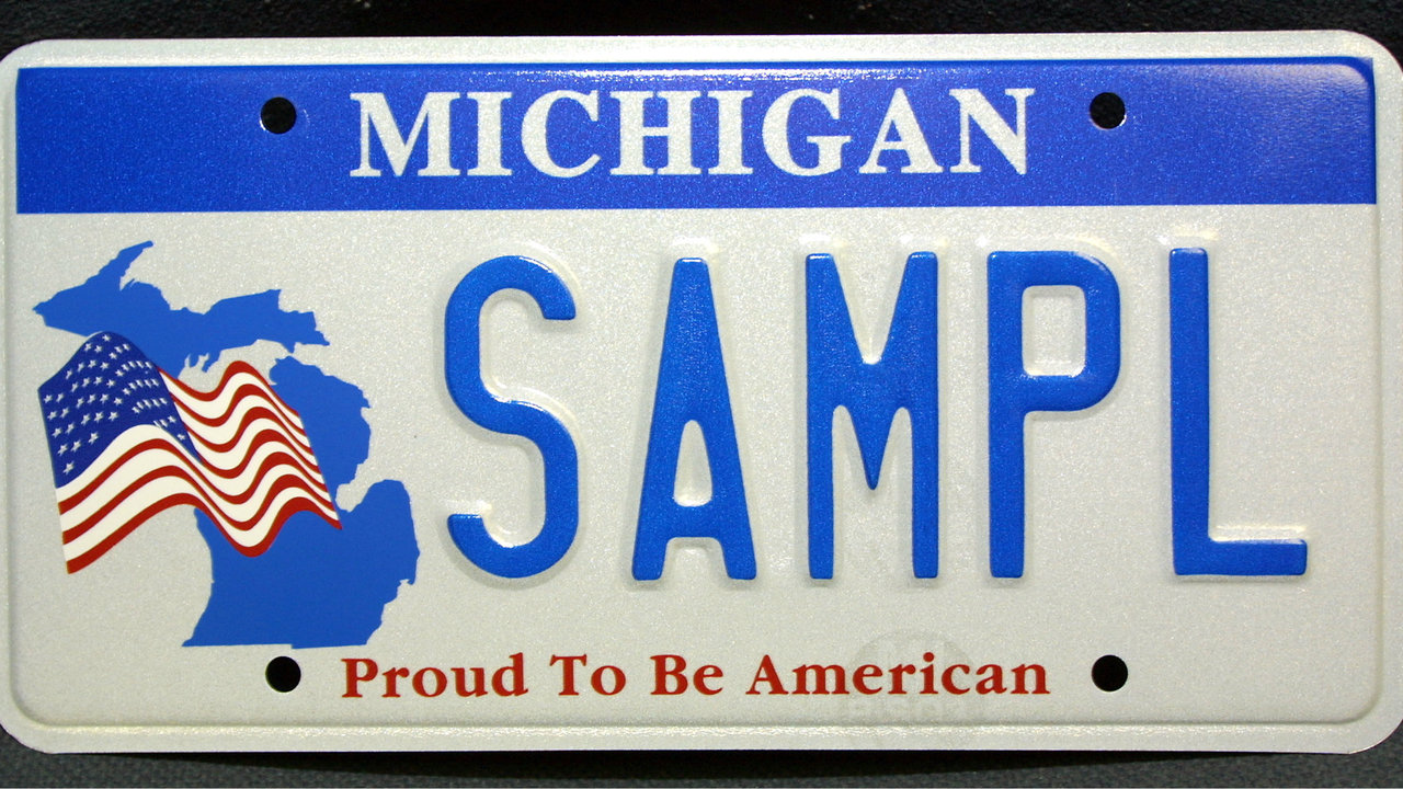 Michigan governor approves 30-day license plate grace period