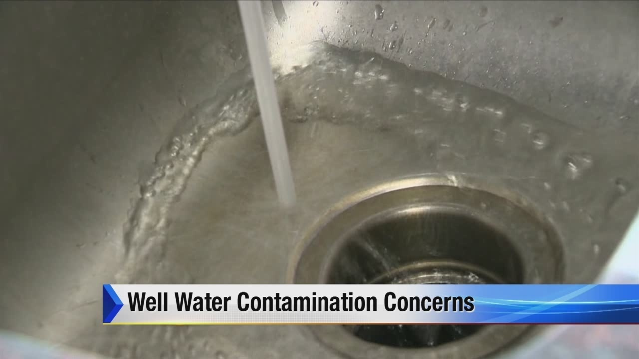 Well water contamination causing concerns