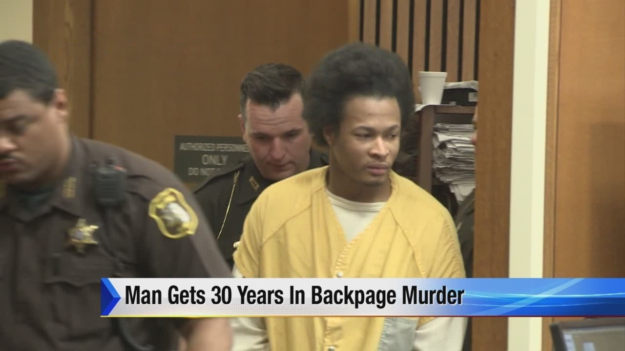 Detroit Backpage Com >> Man Gets 30 Years In Backpage Murder