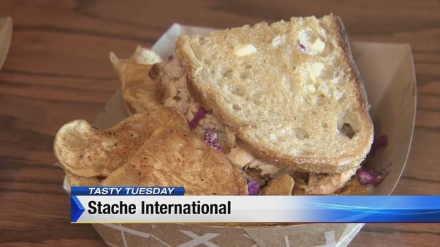 Tasty Tuesday: Stache International's sandwiches
