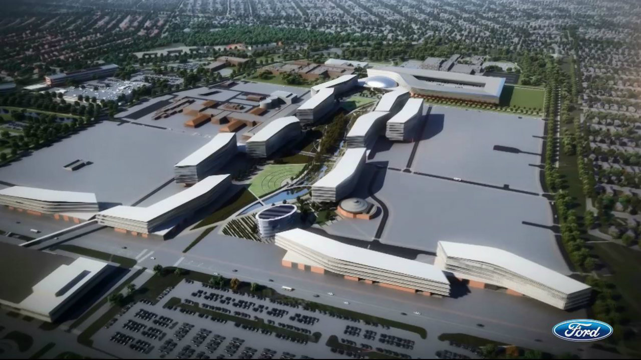 Ford announces 10 year plan to transform its dearborn campus for Ford motor company jobs dearborn mi