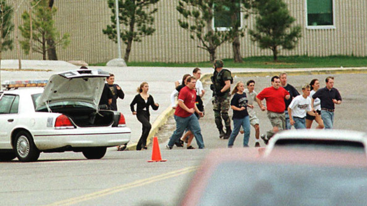 an analysis of the massacre at columbine high school in the united states