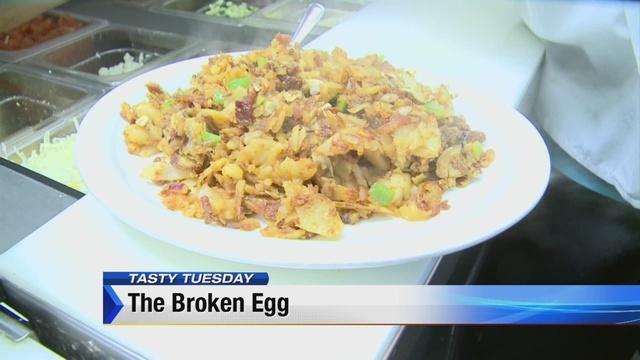 Tasty Tuesday: The Broken Egg in Ann Arbor
