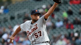 Tigers release struggling relief pitcher Francisco Rodriguez