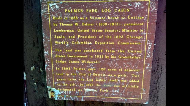 Palmer Log Cabin