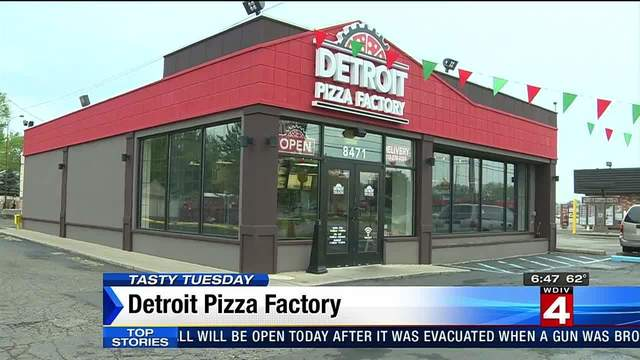 Tasty Tuesday: The Detroit Pizza Factory