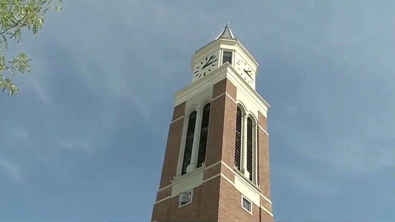 Michigan Traffic Cameras >> Minute hand on Oakland University Elliott Tower comes crashing...
