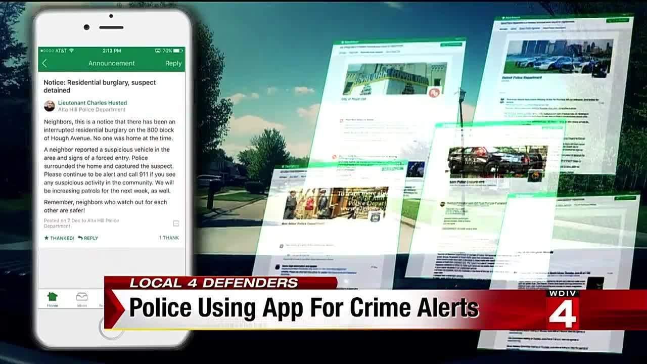 Metro Detroit police, neighbors using app for crime alerts