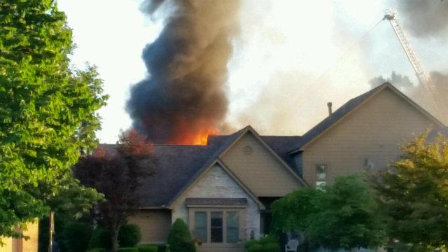Novi homes damaged by fire 2