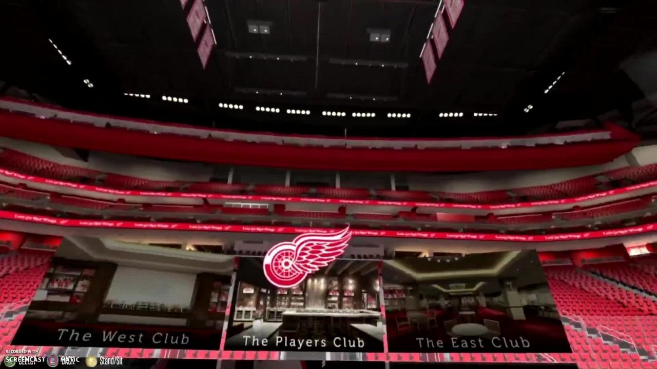 Virtual Tour Of Little Caesars Arena