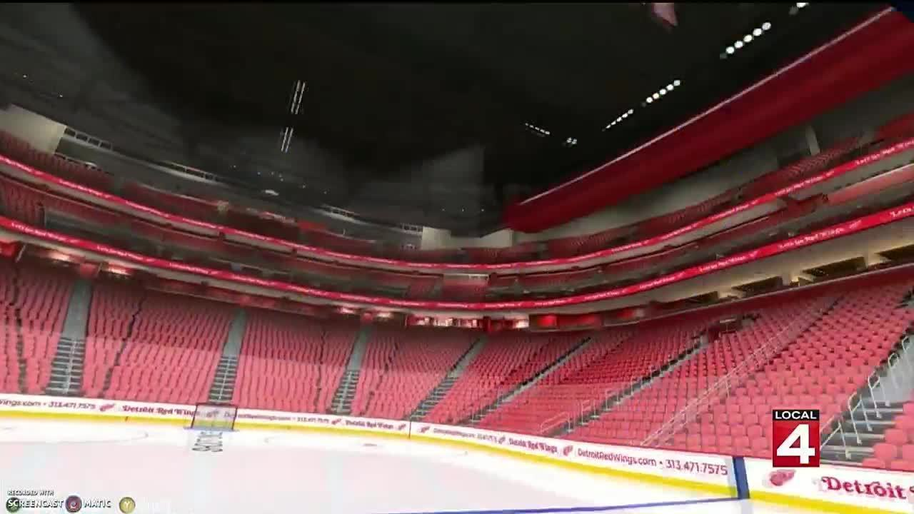 Videos Take Virtual Tour Of Red Wings Little Caesars Arena