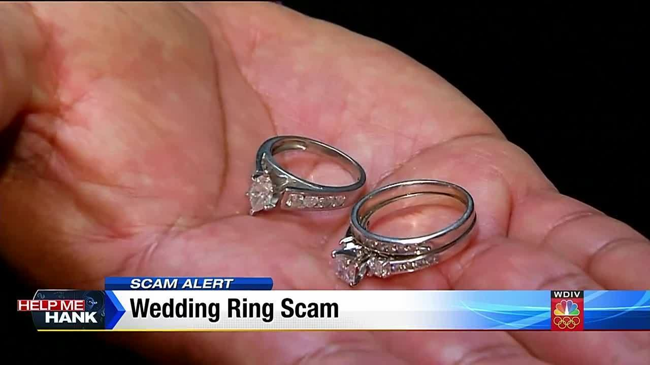 Wedding ring scam: Reminder of online risks