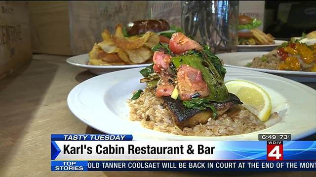 Tasty Tuesday: Karl's Cabin Restaurant and Bar