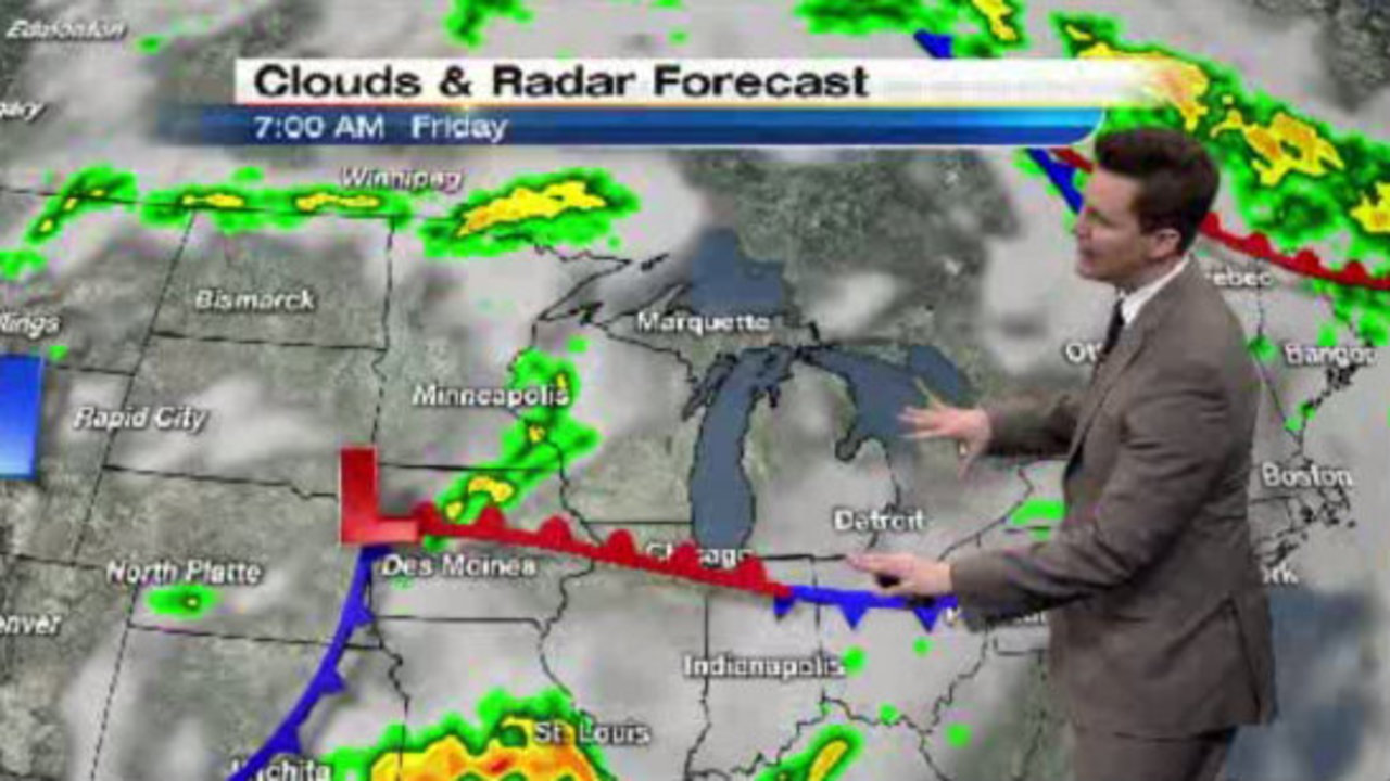 Local 4casters Widespread Fog Friday Morning
