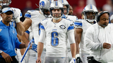 Detroit Lions punter Sam Martin will miss time with ankle injury