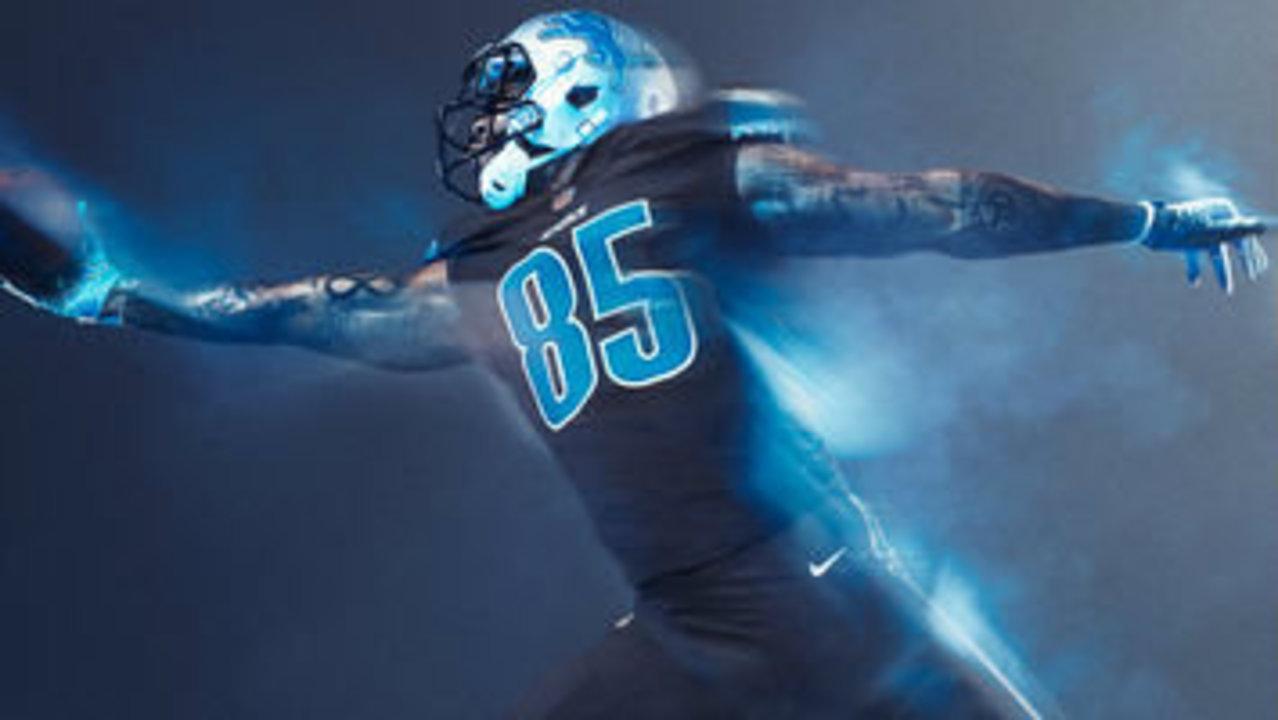 Detroit Lions Unveil New Color Rush Jersey