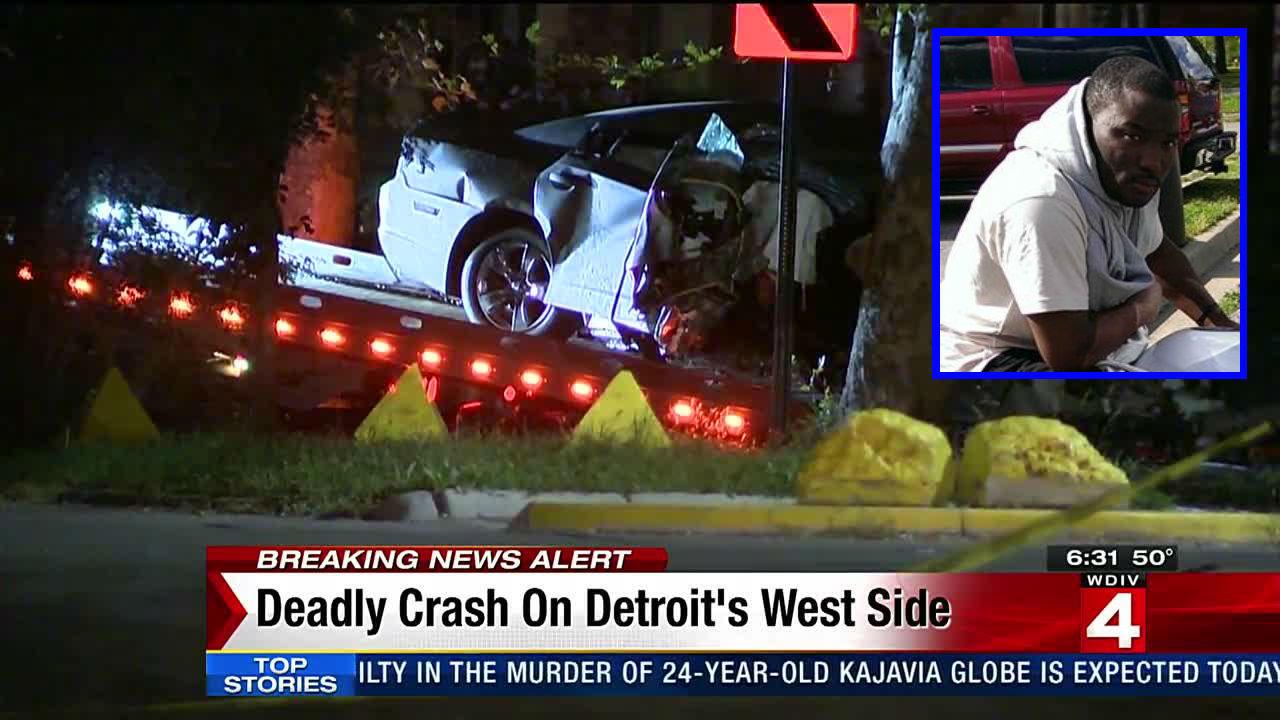 Deadly crash on Detroit's west side