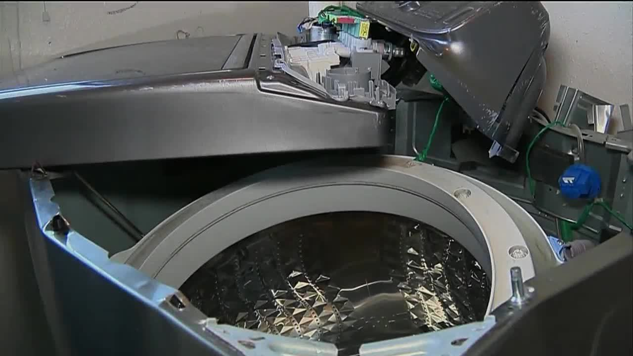Woman Says Washing Machine Exploded Worries It Could