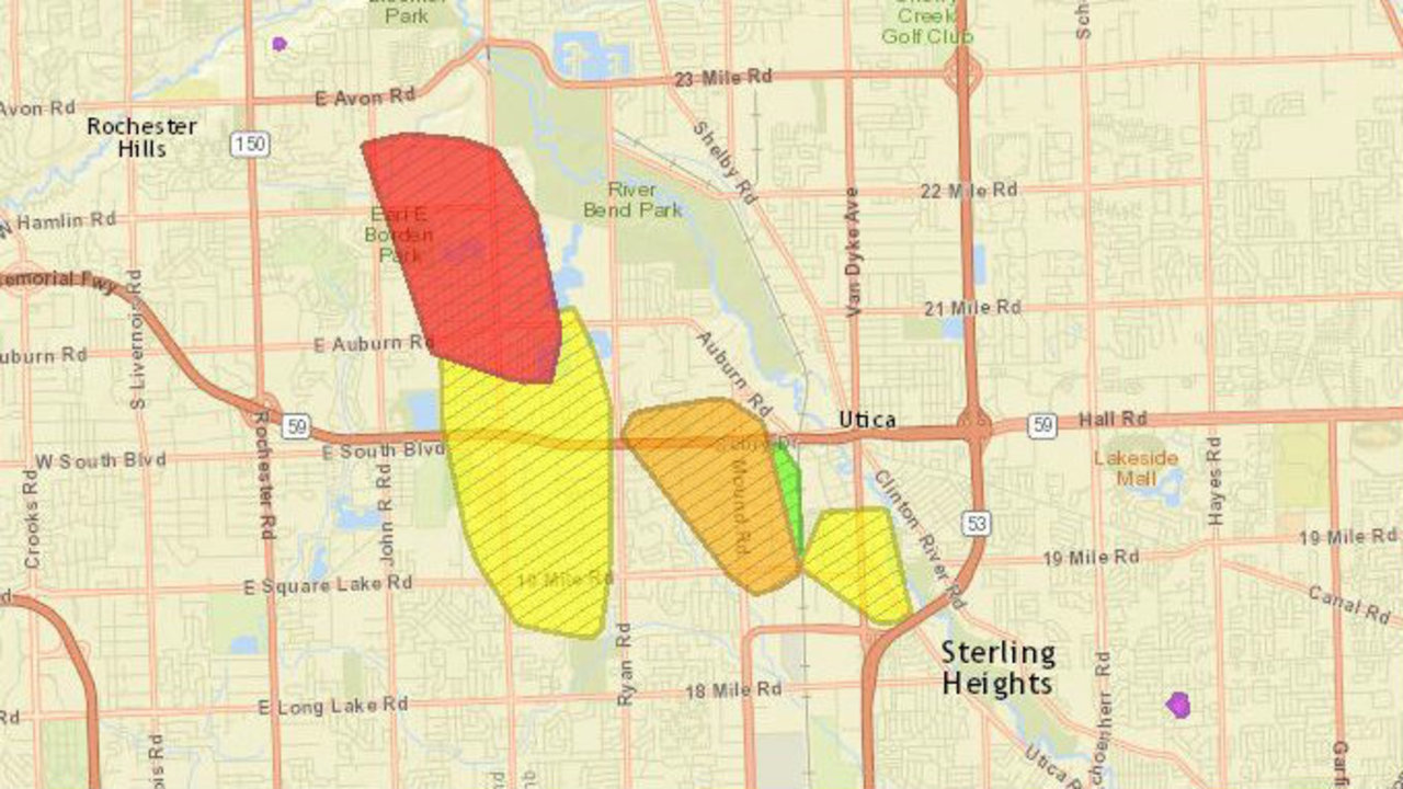 4,000 Sterling Heights residents without power after fire...