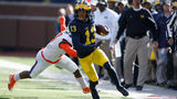 Ranking 10 Michigan football WRs most likely to start against Florida