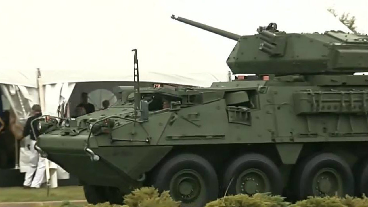 Us Army Unveils Redesigned Stryker Created In Metro Detroit